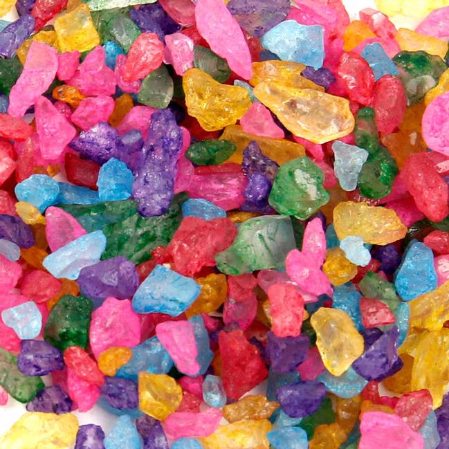 Colorful Rainbow Rock Candy Crystals Rock Candy Amp Sugar