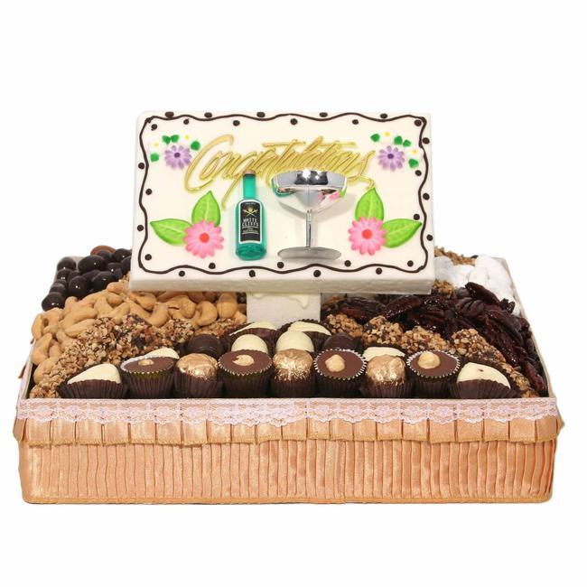 Wedding Congratulations Gift Baskets : Medium Congratulations Gift BasketWedding GiftsWedding Gifts ...