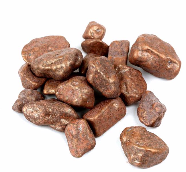 Non Dairy Bronze Chocolate Rocks Nuggets Chocolate Candy