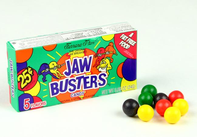 Fun Old Time Candy Products - Jaw Breakers | Homemade Recipes http://homemaderecipes.com/course/appetizers-snacks/old-time-candy