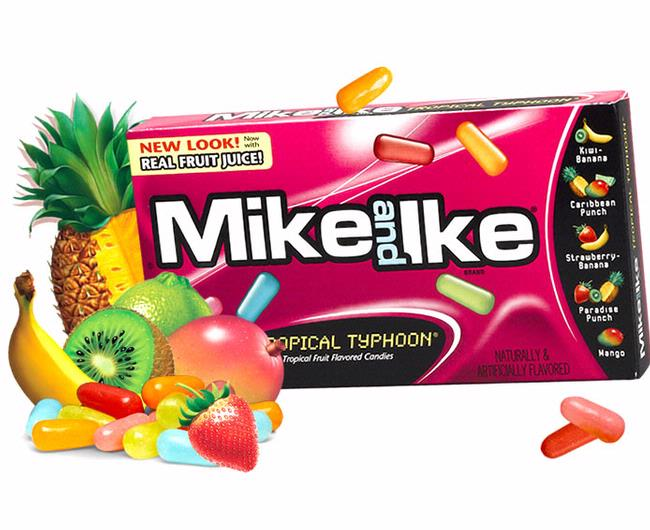 mike amp ike jelly candy   tropical typhoon   24ct box