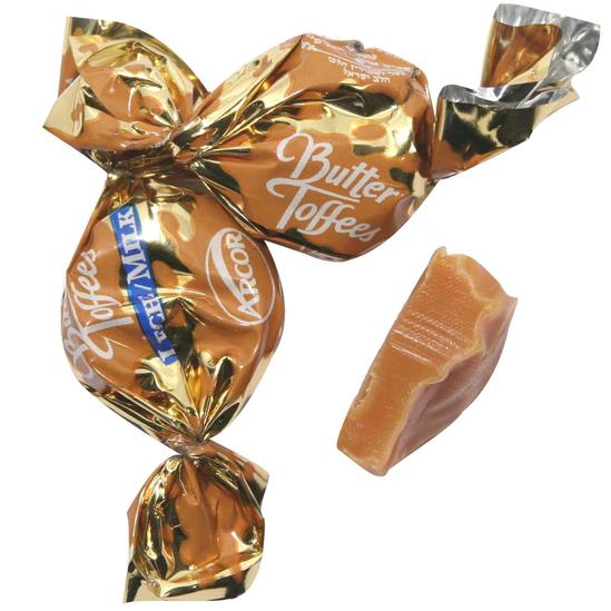 Kosher Arcor Milk Butter Toffee Candy - 8 oz • Wrapped ...