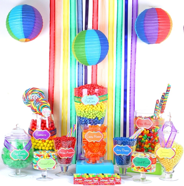 Rainbow Candy Buffet Oh Nuts 174