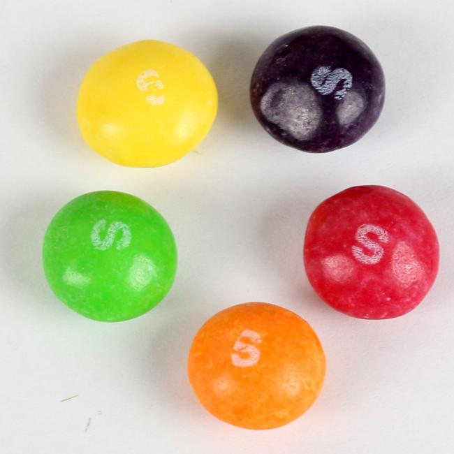 Kosher Skittles Candy - Crazy Sours - 1.35 oz - 14CT Box • Candy Mini Packs • Oh! Nuts®