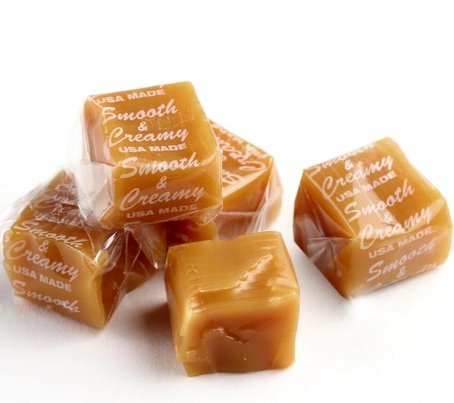 Smooth & Creamy Caramels Squares Candy • Old Time Candy • Oh! Nuts ...