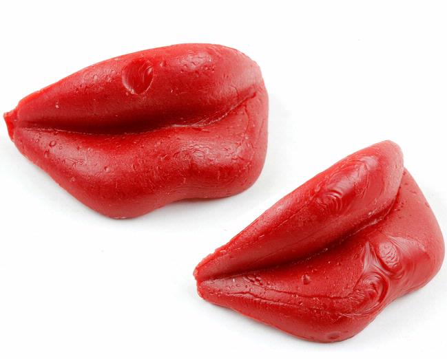 Wack O Wax Lips Candy 24ct Box Oh Nuts 174