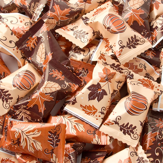 Fall Halloween Buttermints Wrapped Candy Bulk Candy