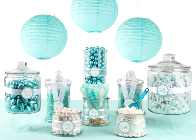 tiffany blue candy buffet u2022 oh nuts rh ohnuts com teal candy buffet bags teal candy table