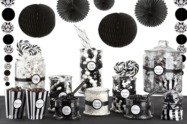 Black And White Candy Buffet Oh Nuts