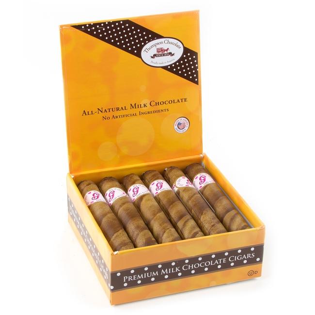 Milk Chocolate Cigars Its A Girl 12 Piece Box