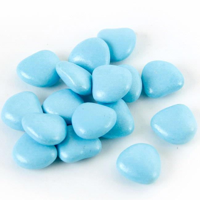 Baby Blue Chocolate Candy Hearts Chocolate Candy Buttons