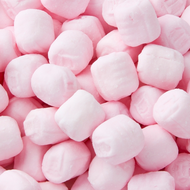 Pink Buttermints - 3 LB Bag • Unwrapped Candy • Bulk Candy • Oh ...