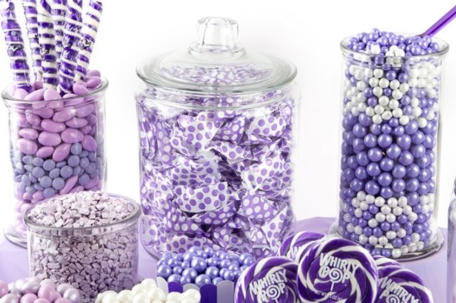 Purple Candy Buffet Oh Nuts 174