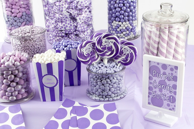 Purple Candy Buffet • Oh! Nuts®