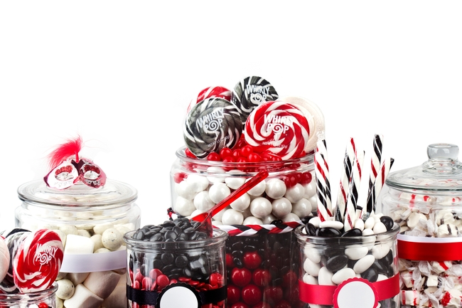 Red Black Amp White Candy Buffet Oh Nuts 174