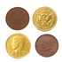 Gold Chocolate Coins - 1 LB Bag