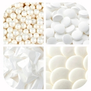 White Themed Candy & Chocolate
