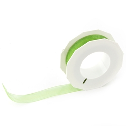Apple Green Organdy Ribbon