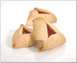 Sugar-Free Apricot Hamantashen - 10CT