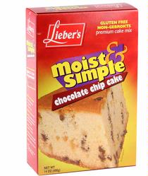 Passover Chocolate Chip Cake Mix