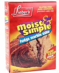Passover Fudge Marble Cake Mix