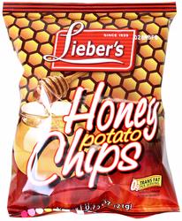 assover Honey Flavored Potato Chips - 70CT Case