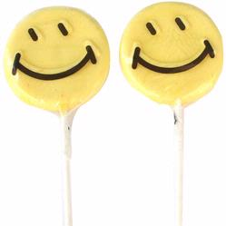 Smiley Lollipops