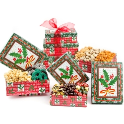 3-Tier Holiday Gift Boxes