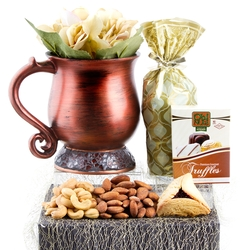 Bronze Overflow of Blessings Purim Gift