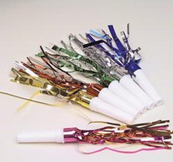 Fringed Noisemakers - 144CT Bag