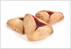 Sugar-Free Raspberry Hamantashen - 10CT