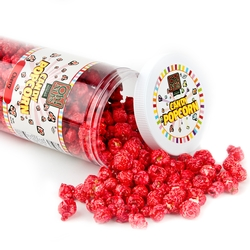 Red Candy Coated Popcorn - Cherry
