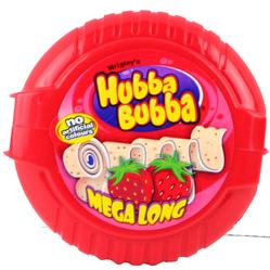 Hubba Bubba Strawberry Bubble Gum Tape - 12CT