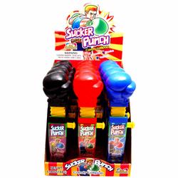 Sucker Punch Candy Lollipop - 12CT Box