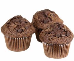 Passover Double Chocolate Chip Muffins - 6-Pack
