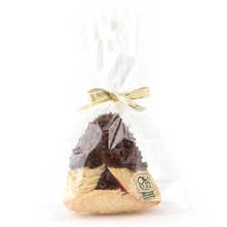 Chocolate Dipped Hamentashen With Cookie Crunch- 1PC