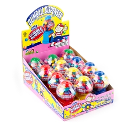 Dubble Bubble Gumball Dispensers - 12CT Case