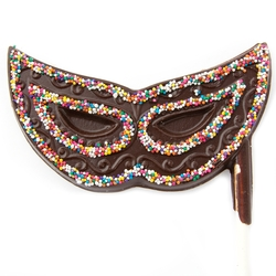 Purim Chocolate Mask Pop