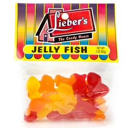 Passover Assorted Mini Jelly Fish - 3 OZ Bag