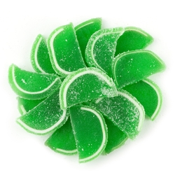 Passover Lime Jelly Fruit Slices