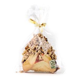 Chocolate Dipped Hamentashen With Nuts - 1PC