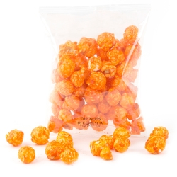 Orange Candy Coated Popcorn Snack Pack - 12 Pack