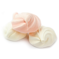 Passover White and Pink Meringues