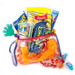 Kids Colorful Clear Plastic bag Gift
