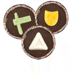 Purim Chocolate Pop - 1 Pc.