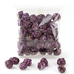 Purple Candy Coated Popcorn Snack Pack - 12 Pack