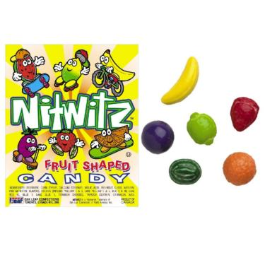 Nitwits Fruit Shapes Pressed Candy
