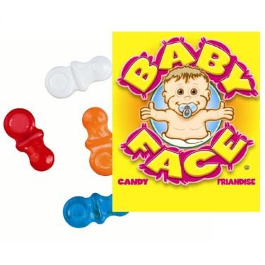 Baby Pacifier Coated Candy