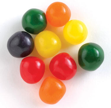 Fruit Sour Balls Candy