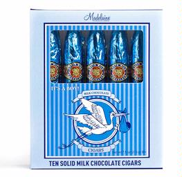 Its A Boy 10 Piece Cigar Gift Box